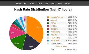 Litecoin Pool Hashrate Chart What Does It Mean To Back Up
