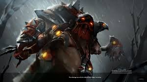 dota 2 dendi pudge murder of crows set with hook animation youtube