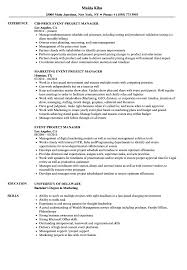 Marketing Project Manager Resume Sample Event Project Manager Resume Samples Velvet Jobs 22