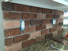 Brick Backsplash Tile doityourself brick veneer backsplash remington avenue 2920 by guidejewelry.us