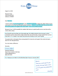 Fundraising Thank You Letter Templates Mind Your Manners Thank Your Donors The Modern Nonprofit