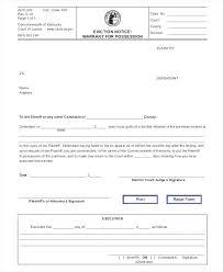 Sample Eviction Notice Template Ga Free Altpaper Co