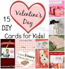 Valentines Day Cards For Boys 15 Diy Valentine Day Cards For Kids Mission To Save