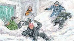 Во что играли зимой наши предки Снег и зимние забавы Снег и зимние забавы