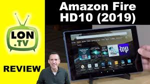 New 2019 Amazon Fire HD 10 Tablet Review - A nice improvement ...