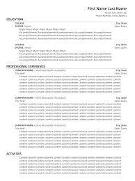 Chiropractic Resume Impressive Chiropractor Resume Chiropractic Resume Template For Chiropractic