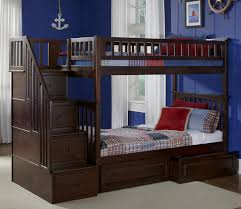 Ogden Twin over Twin Stairway Bed