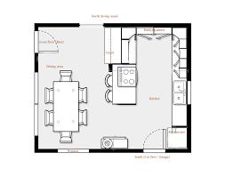 kitchen design floor plan photo 1