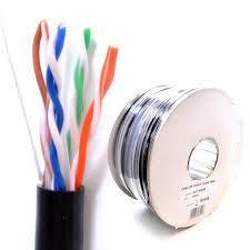external cata outdoor use copper ethernet network cable reel utp external cat6a outdoor use copper ethernet network cable reel utp 100m