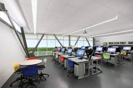 office lighting solutions. Daylight Lighting Controlled Environment - Image From Philips Ledalite Office Solutions