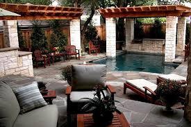 Small Backyard Oasis traditional-patio