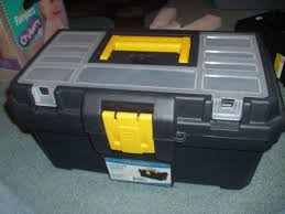 toolbox with the lid closed
