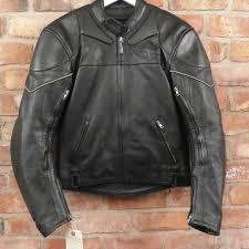 teknic leather jacket uk 40