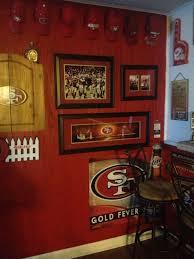 49ers Room Designs 49ers Room Sports Man Cave 49ers Room Man Cave Garage