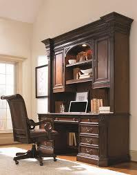 hooker furniture desk. Modren Desk Hooker Furniture European Renaissance II Office Wall Unit With Dual Access  Peninsula Desk Desk And Display Hutches  Stuckey LShape Desks On
