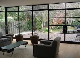 contemporary steel framed windows and doors in sydney