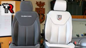 leather seats interior kit install jeep wrangler