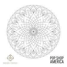 Lots of printable art to choose from. Free Printable Mandala Adult Coloring Poster