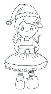 Coloring Pages Girl Elf On The Shelf Colouring Pages Coloring
