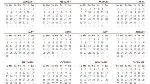 Printable Calendar 2020 With Notes 2019 Calendars For