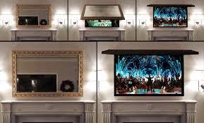 interior mirror wall mount tv cabinet amazing u hide wires diy flatscreen wallmount to neon