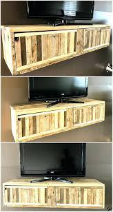 wood pallet tv stand stands instructions corner diy