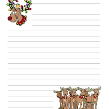 Christmas Letterhead Template Free Christmas Stationery And Letterheads To Print
