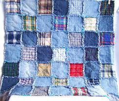 Denim rag quilt tutorial PDF pattern - picnic blanket - recycled ... & This is a digital file Adamdwight.com