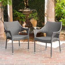 Cliff Outdoor Wicker Chairs by Christopher Knight Home - Free Shipping  Today - Overstock.com - 15211291
