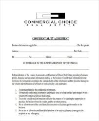 Real Estate Confidentiality Agreement - April.onthemarch.co