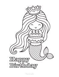From barbie to batman and from dinosaurs to dr. 55 Best Happy Birthday Coloring Pages Free Printable Pdfs