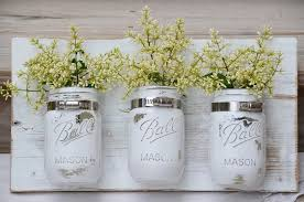 easy diy wall decor ideas mason jars