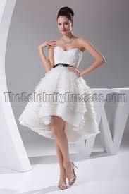 New Style A Line Hi Low Cocktail Short Wedding Dresses