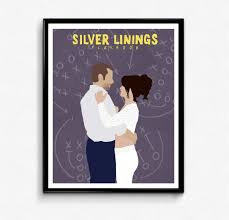In addition, the film plays down. Silver Linings Playbook Movie Poster Minimalist Print Etsy