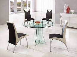 Contemporary Round Dining Table 20 Ways To Contemporary Round Glass Dining Table