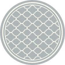 round gray rug round gray rug 8 round gray tile indoor outdoor rug garden city gray