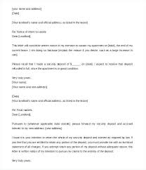 Notice Of Rent Increase Form Rental Termination Template Month Letter Terminating To