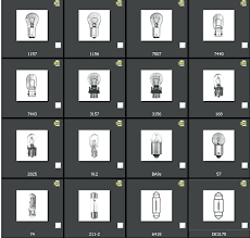 Motorcycle Headlight Bulb Chart Sylvania Light Guide