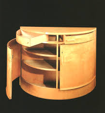 alvar aalto furniture. Rounded Cupboard In Birch, After 1935 Alvar Aalto Furniture