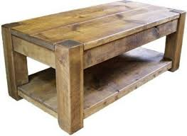 ... Coffee Table, Rustic Coffee Table Solid Wood Under Professional Design Solid  Wood Coffee Tables With ...