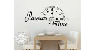 prosecco time kitchen dining room wall