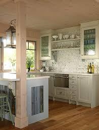 Small white kitchens Island Small White Kitchen Small House Life Small White Kitchens