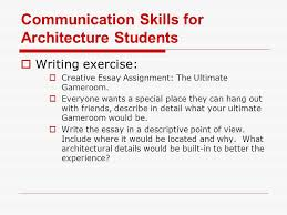 communication skills for architecture students ppt  communication skills for architecture students