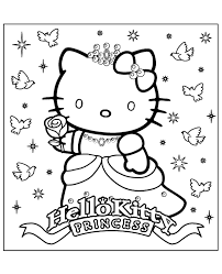 Pypus is now on the social networks, follow him and get latest free coloring pages and much more. Printable Hello Kitty Princess Picture Topcoloringpages Net