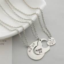 3 sisters necklace