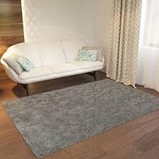 grey plain solid area rug solid color 3 3 x 5