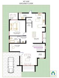 2400 square feet 40feet x 60feet 3bhk floor plan duplex floor plan