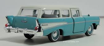 Two Lane Desktop: M2 Machines 1957 Chevy 210 Beauville Wagon