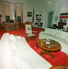 kennedy oval office. Redecorated Oval Office With President John F. Kennedy\u0027s Effects Kennedy