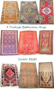 rust colored bath rugs nice for bathroom amazing rug within